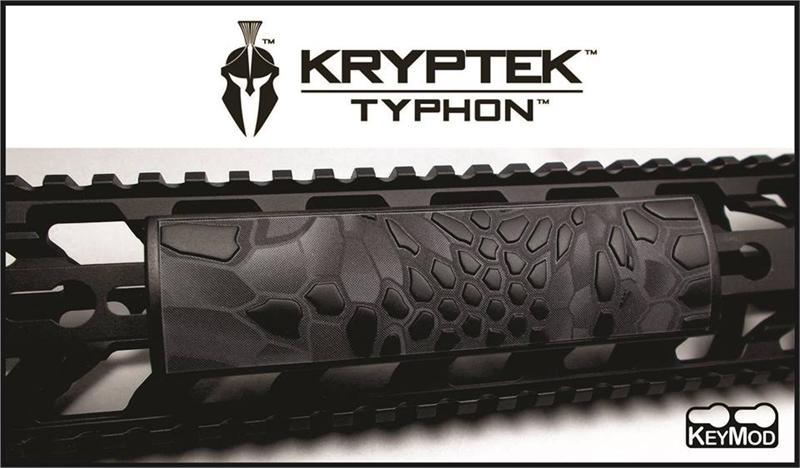 Ar15 M4 Custom Grip Pvc Keymod Rail Cover Kryptek Typhoon